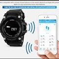 Смарт-часы с пульсометром спортивные часы для мужчин Bluetooth шагомер калорий перезаряжаемые светодиодные цифровые наручные часы reloj hombre SKMEI ...