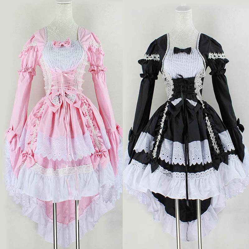 Women Angel Princess Dress Maid Cosplay Fantasy Carnival Party Costumes Clothes H9