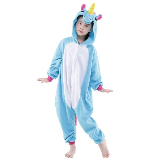 Unicorn Pajamas Onsies Costumes Child jumpsuits Halloween Costume ...