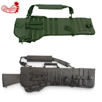 MY DAYS Tactical Rifle Scabbard Army Green Black Military Holster Assault Shotgun Rifle Hunting Bag Long