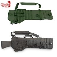 MY DAYS Tactical Rifle Scabbard Army Green Black Military Holster Assault Shotgun Rifle Hunting Bag Long