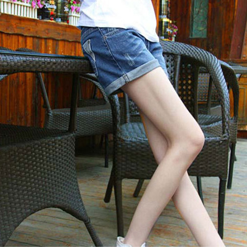 Summer Denim Maternity Shorts for Pregnant Women Pockets Jeans Elastic Waist Care Belly Pants NSV775