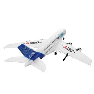 Image 4 - Fest flügel A380 Airbus Flugzeug Fernbedienung Flugzeug Modell 3CH EPP Fliegen Flugzeug RTF
