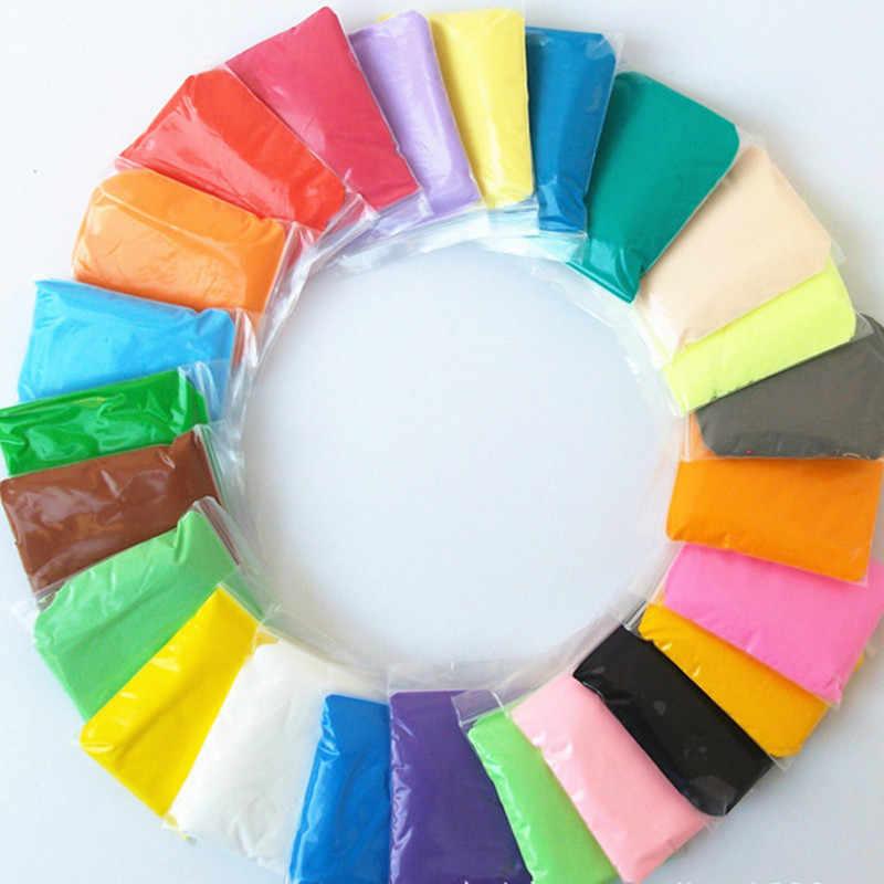 Слизь 36 цветов с 3 инструментами сушка воздуха супер легкая пластиковая глина красочный пластик полимер ine обучающая мягкая игрушка пластелин