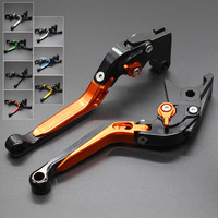 CNC Aluminum Adjustable Motorcycle Folding Extendable Brake Clutch Lever For DUCATI MULTISTRADA 1200 1200S 1200GT 2010 2018