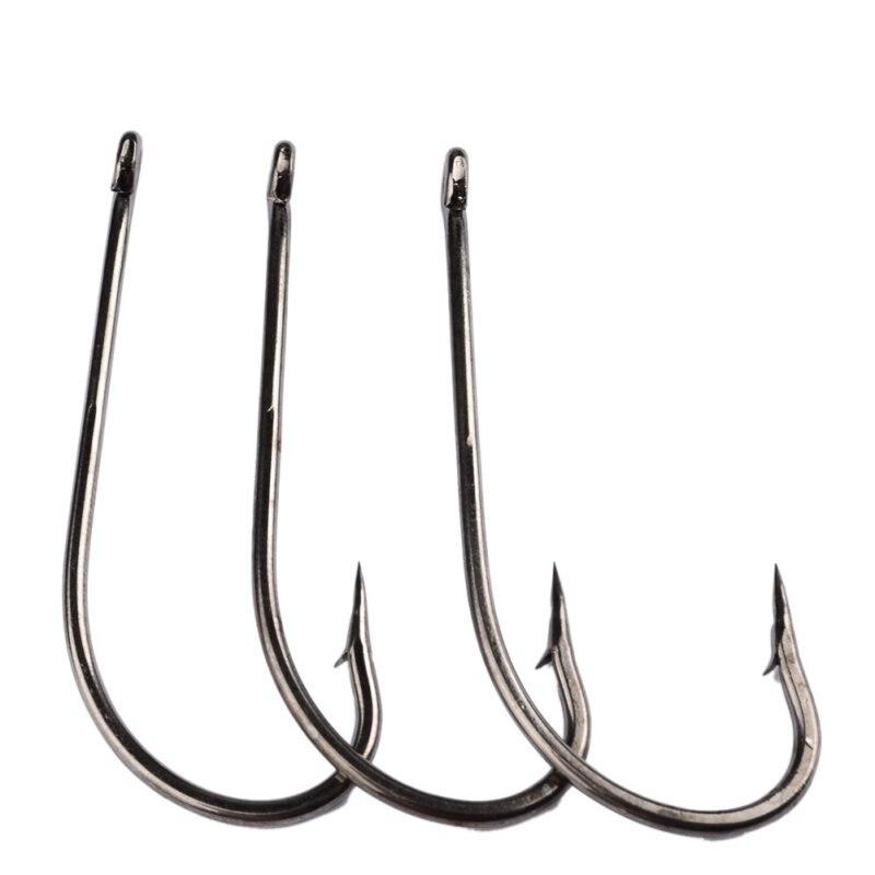 50PC 1#-8/0# JIG Hook Fishing Hooks Oshaughnessy Series JIG Hook Jig Big Fish hook Fishing Accessories