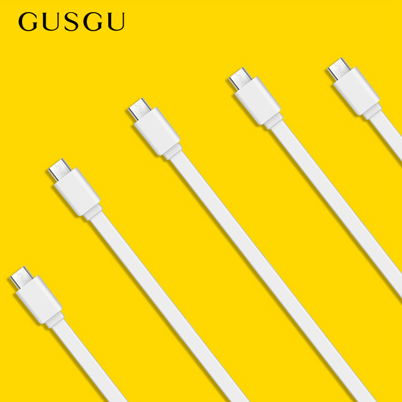 GUSGU Micro-Usb-Cable Xiaomi Charger Cord Data Mobile-Phone Fast-Charging Android Samsung