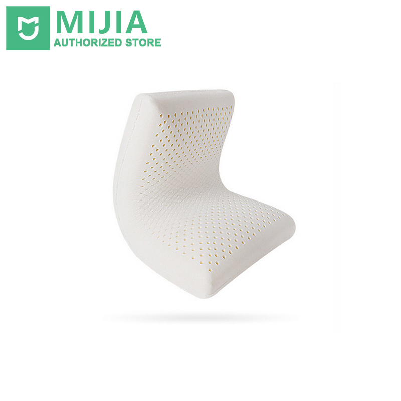 Original Xiaomi Pillow 8H Natural Latex Con Federa Best Environmentally Safe Cuscino materiale Z1 Healthcare Good Sleeping