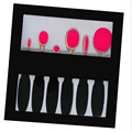 New 6 Pcs Oval Toothbrush Makeup Brush Set Powder Foundation Facial Contour Blusher Eyeshadow Makeup Brushes Kit Accessories