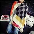 NEW high quality bufandas mujer Fashion brands schal echarpes foulards femme designer women scarfs party Shawl plaid/tartan Wrap