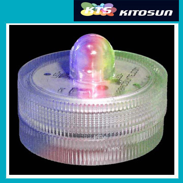 bateria operado velas unico luzes led submersiveis a prova d agua para venda
