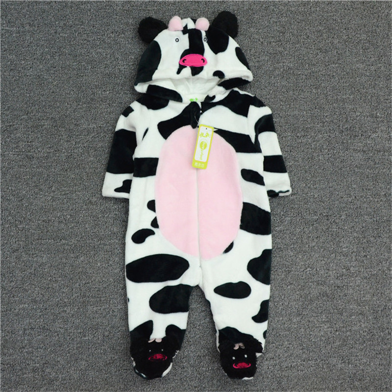 Newborn Hoodie Boy/Girls Snowsuit Romper Long Sleeve Boys Clothes  Animal Overall  Baby Cartoon Jumpsuit  for Autumn and  Winter cotton baby rompers set newborn clothes baby clothing boys girls cartoon jumpsuits long sleeve overalls coveralls autumn winter