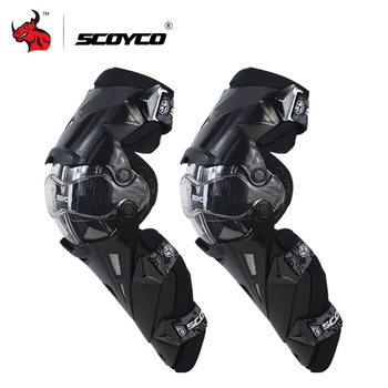 SCOYCO genouillère moto CE Motocross genouillères Protection moto genouillères Protection moteur-course protections engrenages de sécurité attelle de course