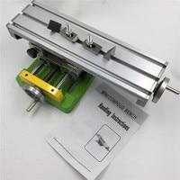 Professional DIY Mini Worktable Cross Slide Multifunction Milling Drilling Working Table X Y Adjustable BG6350