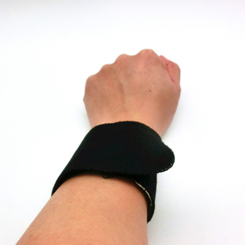 tourmaline magnetic therapy self heating wrist support brace slimming muscle joint pain relief belt stimulator band device