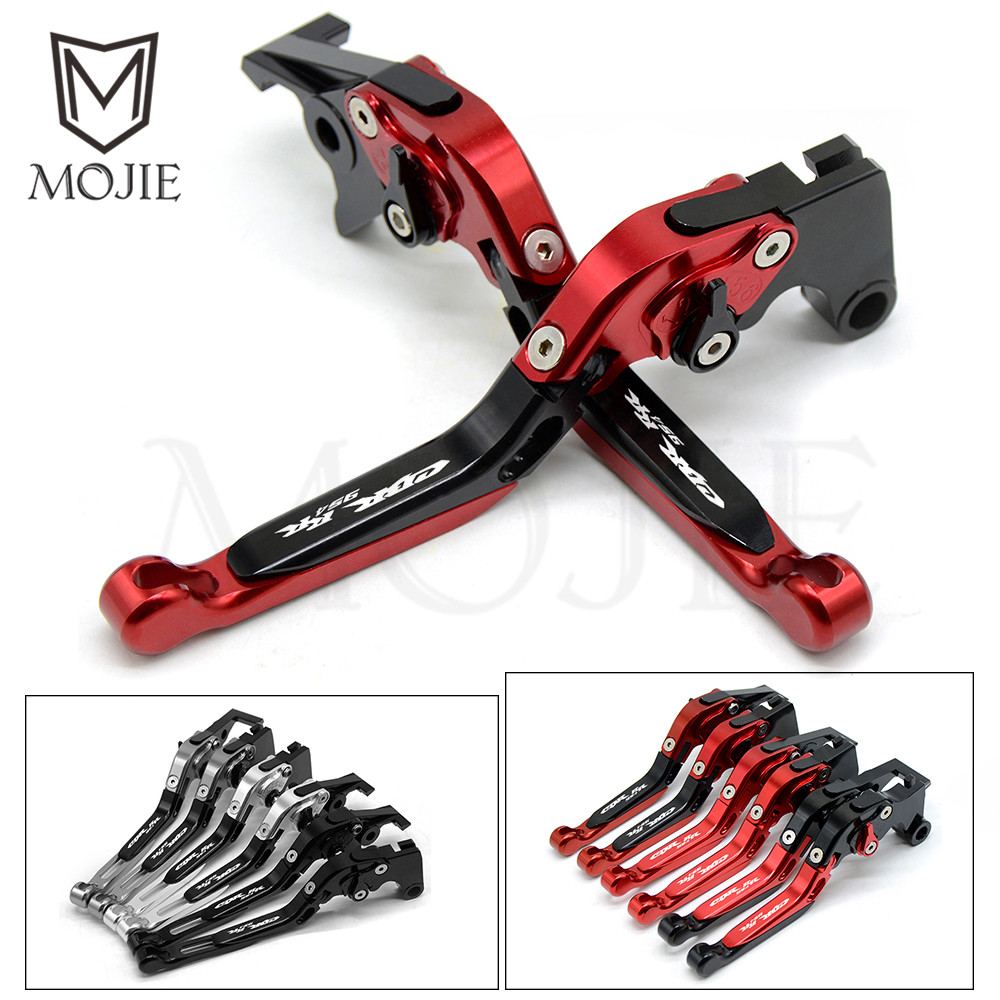 Motorcycle Accessories CNC Folding Extendable Brakes Clutch Levers For HONDA CBR954RR CBR 954 RR CBR 954RR