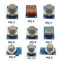 9 UNIDS/1 Lote MQ-5 Módulo de Sensor de Detección De Gas MQ-2 MQ-3 MQ-4 MQ-6 MQ-8 Sensor MQ-9 MQ-135 Módulo MQ-7 Sensor de Gas Kit de Inicio