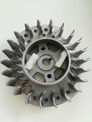 Запасные части, летающее колесо, подходит для маховика из меха Polrad passend для китайской бензопилы 45CC 52CC 58CC 4500 5200 5800 Neilsen MT-9999