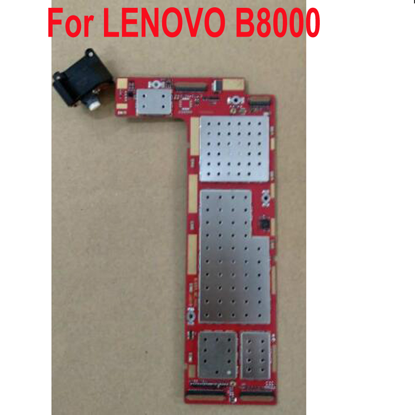 100% Tested Working Mainboard For LENOVO YOGA TABLET 10 B8000-F B8000 60046 Motherboard Logic Circuit Fee Main Board Flex Cable