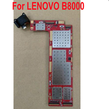 100% testado trabalho mainboard para lenovo yoga tablet 10 B8000 F b8000 60046 placa de circuito lógica placa principal cabo flexível