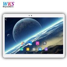 Envío libre 10.1 pulgadas tablet pc Android 6.0 RAM 4 GB ROM 32/64 GB Dual SIM GPS Bluetooth 1920*1200 IPS tabletas Inteligentes pcs MT8752