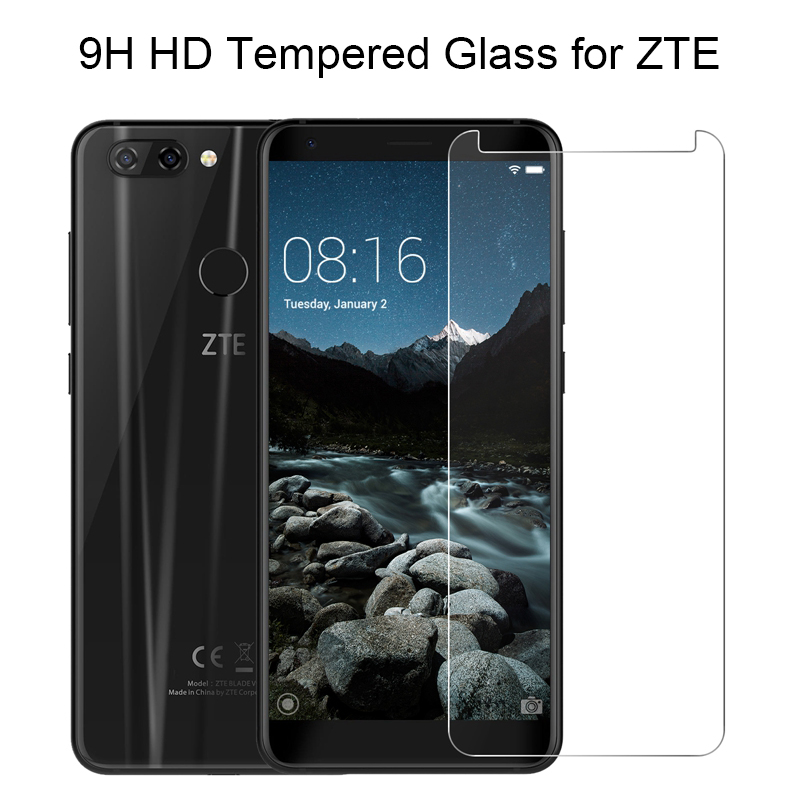 Hard Glass For ZTE Blade A110 A410 A452 A460 A512 A520 Tempered Glass For Blade L110 A601 A610 A711 A910 9H Glass On V580 T620