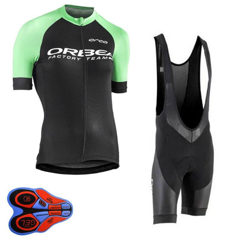 2018 ORBEA Велоспорт Джерси Для женщин Установить дышащий велосипед Костюмы Велосипедный Спорт Шорты для женщин носить MTB форма одежда Ropa Ciclismo ...