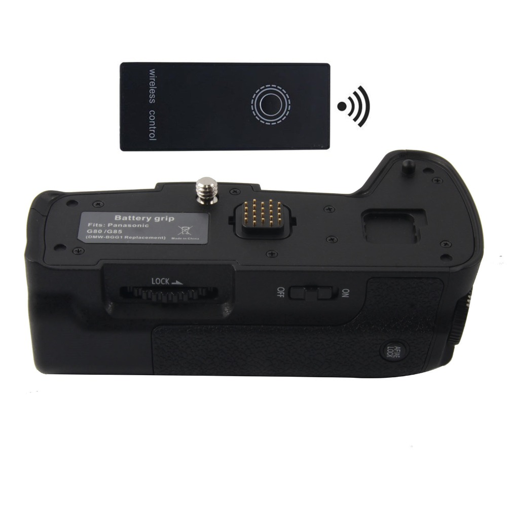 DMW BGG1 Battery Grip 2 4G Wireless Remote Control for Panasonic Lumix DMC G85 DMC G80