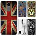 Phone Case For LG K8 2017 X240 European Version 5-inch Cute Cartoon High Quality Painted TPU Soft Silicone Skin Back Cover