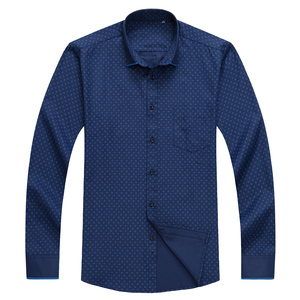 Image 2 - Big size shirts men 10xl 11xl 12xl Oxford print casual men shirts long sleeve England style plus szie shirts men 75 150kg