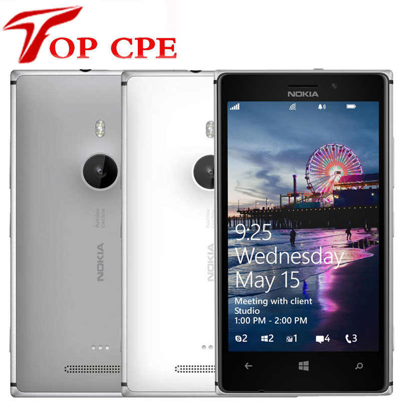 Nokia Lumia 925 Original Entsperrt Renoviert Windows Handy 4,5 ''8MP WIFI GPS 3G & 4G GSM 1G RAM 16GB ROM touchscreen