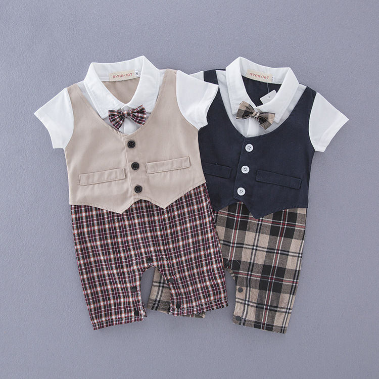 961bde13f 1PC Baby Boy Child Toddler Outfit Boys Clothes Wedding Party Suit ...