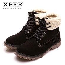 2017 New Mode d'hiver Chaussures en coton chaud hommes Bottes de neige Chaussures de plein air Casual Plus Size 38-45 JQuggP3