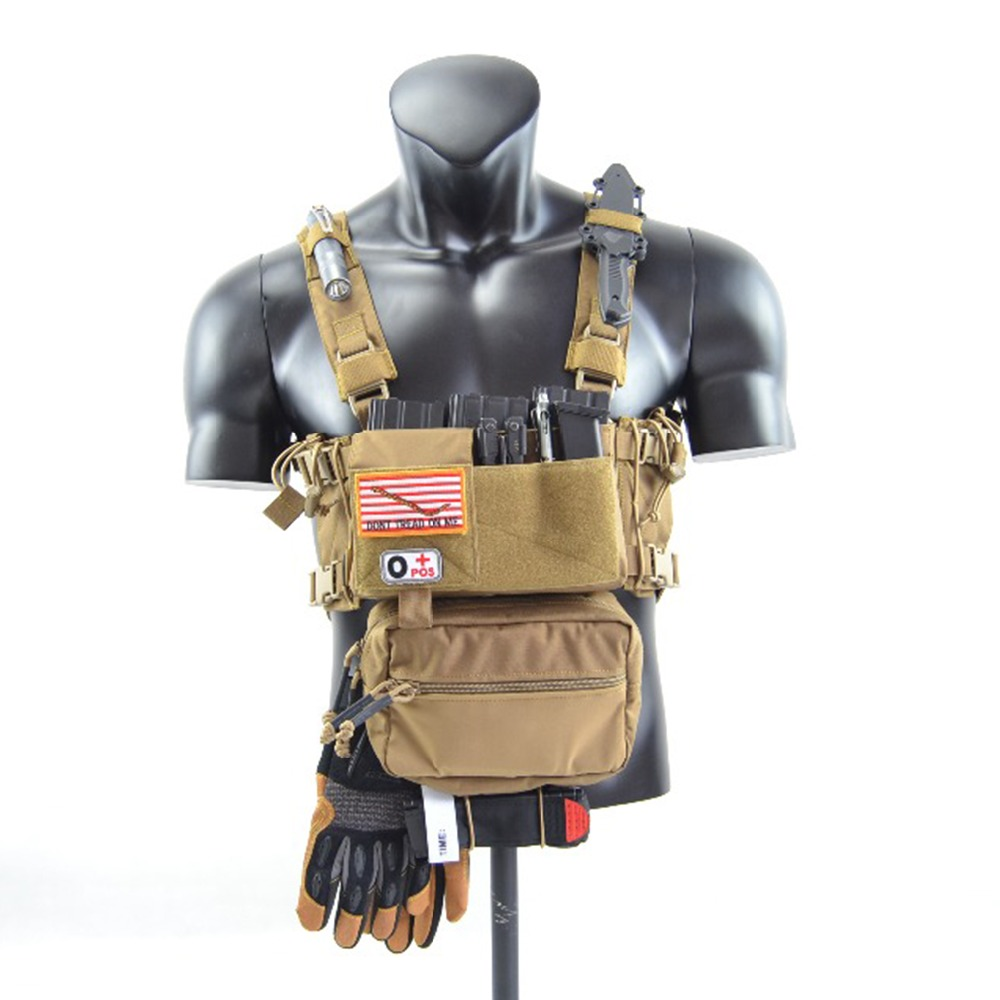 Chassis MK 3 Chest Rig Multicam Spirit Hunting Vest AR 5.56 9mm Mag Pouch Insert Tactical Vest Airsoft Paintball Vest TW-CR02 цена