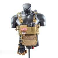 Chassis MK 3 Chest Rig Multicam Spirit Hunting Vest AR 5.56 9mm Mag Pouch Insert Tactical Vest Airsoft Paintball Vest TW CR02