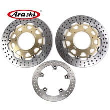 ARASHI F700GS Front Rear Brake Rotors Disc FIT BMW F 700 GS 2013 2014 2015 F650GS ABS F800GS F 650 700 800 GS ADV ABS ROUND DISC