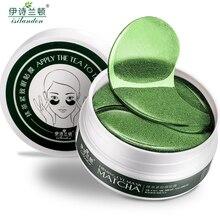 ISILANDON Зелёный чай коллагеновая маска для глаз Уход за лицом нестареющий против старения мешки под глазами темные круги увлажняющий отбеливание Уход за кожей 60 шт.