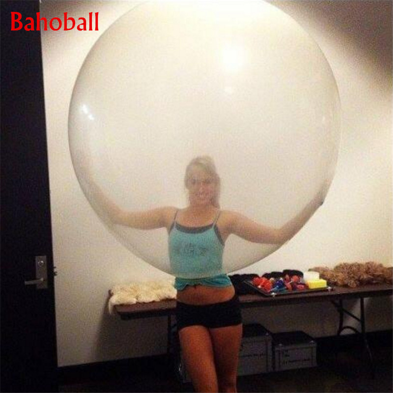 Transparent <font><b>Latex</b></font> <font><b>Balloons</b></font> 36 Inches Wedding Decoration Helium <font><b>Big</b></font> Large Giant <font><b>Balloons</b></font> Birthday Party Decor Inflatable Air Ball image