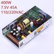 1 шт. 7,5 В 350 Вт 400 Вт коммутации Питание 7,5 В Мощность драйвер для камеры видеонаблюдения Светодиодные ленты AC-DC 100 -240 В Вход к DC 7,5 В