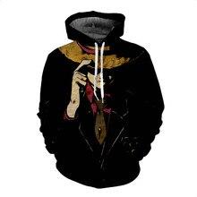Monkey D Luffy Ace Sabo Battle 3D Print Pullover Sweatshirt Hoodie