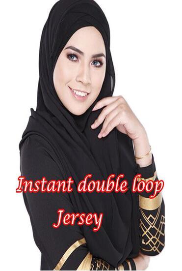 97de3f9cd3e1 double loops instant chiffon embroideries malaysia instant shawl  Damen-Accessoires