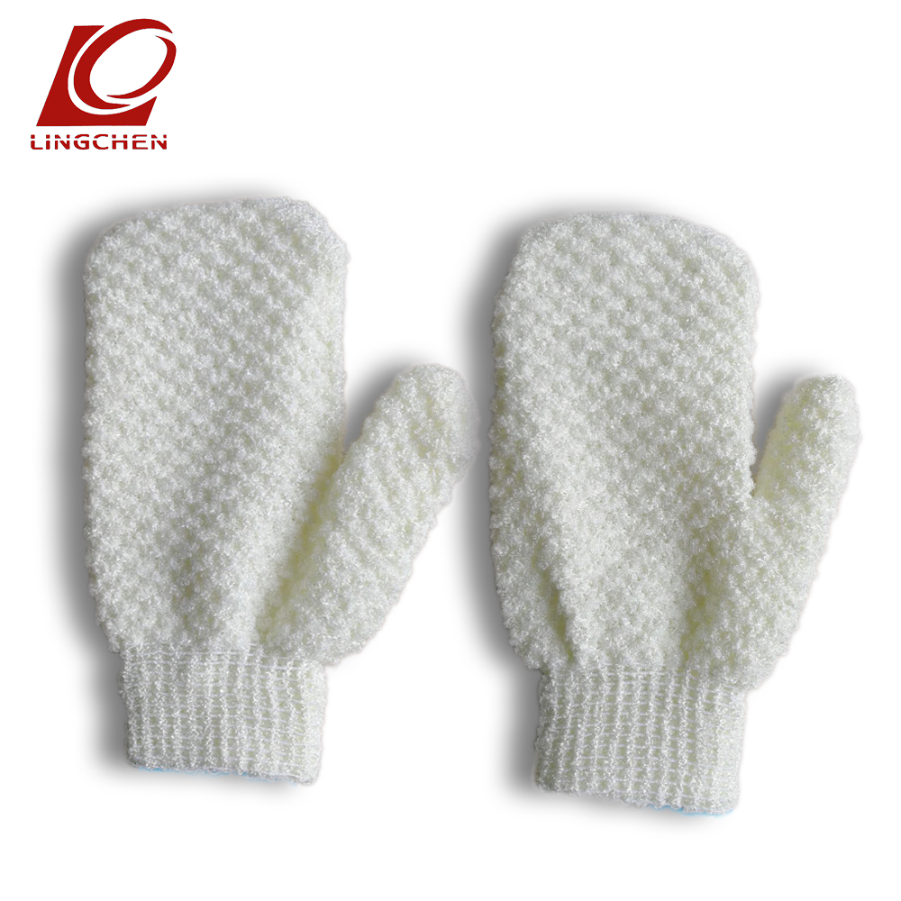 Shower Bath Gloves Exfoliating Wash Skin Spa Gants De Bain Baby Children Adult Body Cleaning Bathroom Scrub Mittens