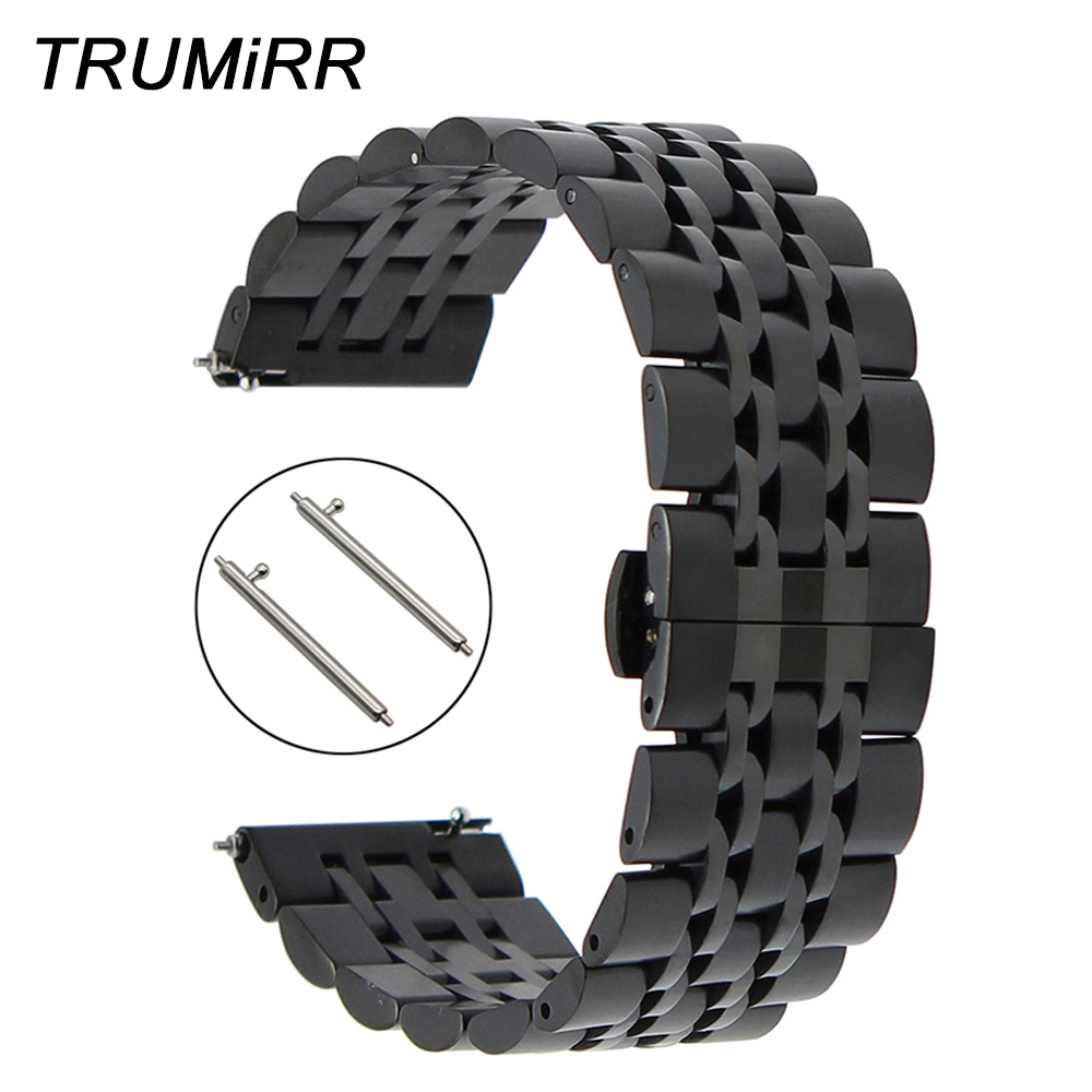 18mm 20mm 22mm Quick Release Stainless Steel Watchband for Citizen Men Women Watch Band Butterfly Buckle Strap Wrist Bracelet стоимость