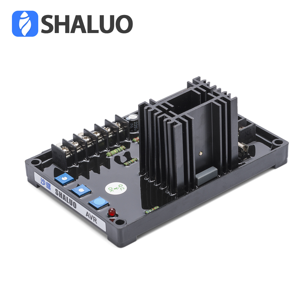 GAVR 15A Generator Universal AVR Automatic Voltage Regulator Board ac brushless Diesel electric Controller Stabilizer gavr 15a universal brushless generator avr 15a voltage stabilizer automatic voltage regulator blue capacitance