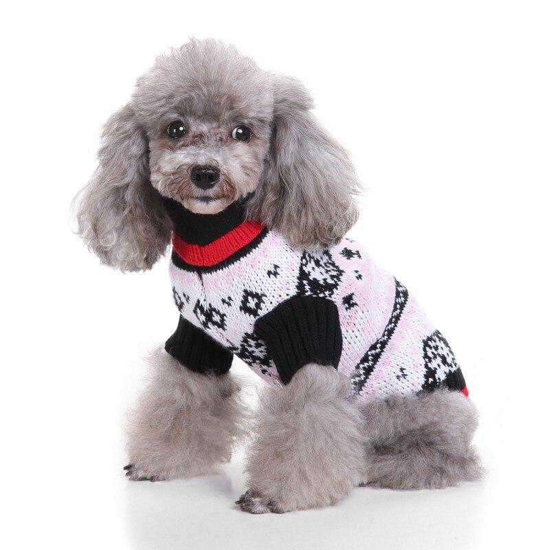 Hund Weihnachten Bat Muster Pullover Herbst Winter Warme Stricken ...