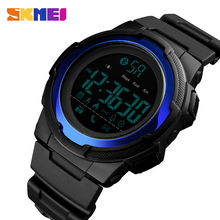 SKMEI New Men Sports Watch Bluetooth Smart Digital Clock Mens Top Luxury Brand Waterproof Watches Relogio Masculino 1440 все цены