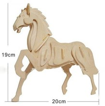 Wooden Model Horse Toys