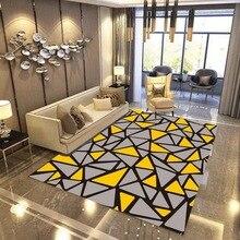 Modern simple Home rug and carpets for Living room coffee table bedroom bedside Antiskid soft tapete 3D printed Custom carpet persian totem printed home decor antiskid rug