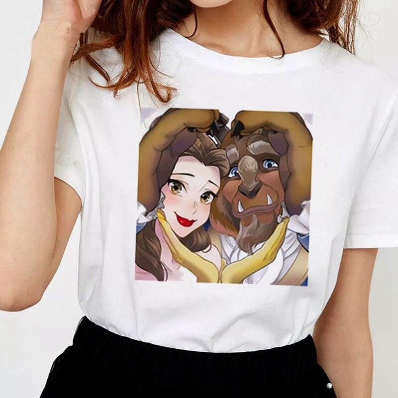 Женская одежда 2019 Новая летняя тонкая футболка женская мода принцесса уличная Досуг o образным вырезом забавная Женская футболка Топы