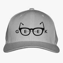 Geek glasses Baseball Cap